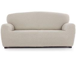 Multi elastyczny pokrowiec na kanapę Contra kremowy, 170 - 220 cm, 170 - 220 cm