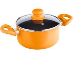 LAMART Garnek LAMART LT1031 Multicolor z pokrywką Pomarańczowy (2.1 litra)