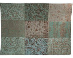 Narzuta Patchwork Vintage (turkusowa) 140x200 - Sea Blue 8006