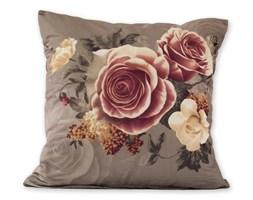 jahu Poszewka na poduszkę Klasic róże szary, 45 x 45 cm