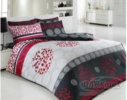 Komplet pościeli bawełnianej Elmas Red Premium 200x220