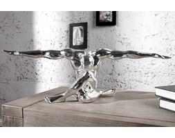 Figurka Athlete 62cm - srebrny