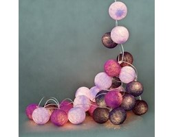 Cotton Ball Lights :: Violets 20 kul