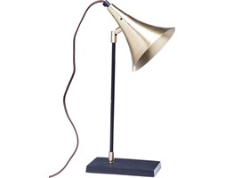KARE Design :: Lampa stołowa Trumpet Brass Uno