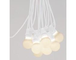 Seletti :: Lampki ogrodowe Bella Vista białe (mleczne żarówki LED)
