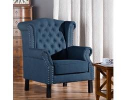 Dekoria Fotel Winchester Navy Blue, 87x78x110cm