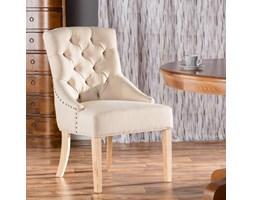 Dekoria Krzesło Victoria Cream, 60x60x97cm