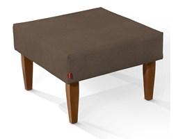 Dekoria Ławka/stolik, brązowy szenil, 60x60x40cm, Living