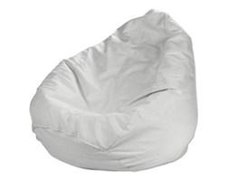 Dekoria Worek do siedzenia, śmietankowa biel, Ø50x85 cm, Loneta