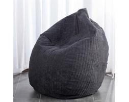Dekoria worek do siedzenia Black, fi60x105cm