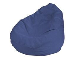 Dekoria Pokrowiec na worek do siedzenia, niebiesko-błękitny szenil, pokrowiec Ø60x105cm, Living