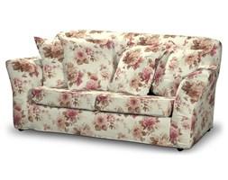 Dekoria Pokrowiec na sofę Tomelilla 2-osobową nierozkładaną, bordowo-beżowe róze na kremowym tle, Sofa Tomelilla 2-osobowa, Mirella