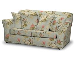 Dekoria Pokrowiec na sofę Tomelilla 2-osobową nierozkładaną, duże kwiaty na jasno-błękitnym tle, Sofa Tomelilla 2-osobowa, Londres