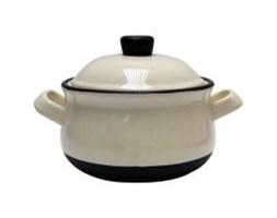 Mini waza na zupę, kamionkowa forma z pokrywką