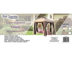 BelGiardino Altana ogrodowa pawilon namiot z moskitierą i ściankami SAMOS