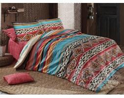 Komplet pościeli bawełnianej Adriana Red Premium 200x220