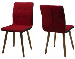 Actona Krzesło Frida czerwona tkanina - H000014092