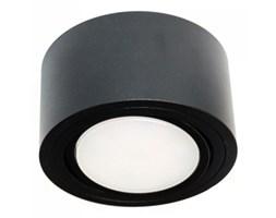 PP Design P 100 BK PLAFON NOWOCZESNA LAMPA SUFITOWA OPRAWA NATYNKOWA 12 CM ALUMINIUM CZARNY GX53 LED NISKI