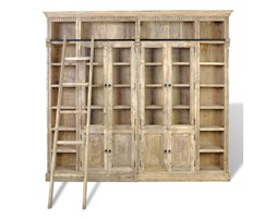 Biblioteka z litego drewna 220x247x35