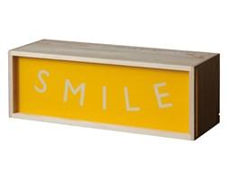LIGHTHINK BOX - lampa stołowa/ścienna