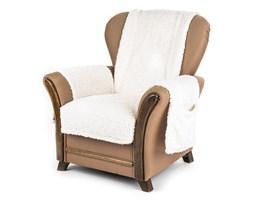 4Home Narzuta na fotel z kieszeniami kremowy, 65 x 150 cm, 2 szt. 40 x 80 cm