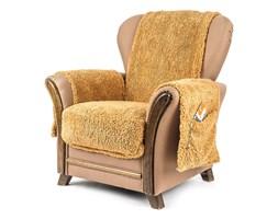 4Home Narzuta na fotel z kieszeniami brązowy, 65 x 150 cm, 2 szt. 40 x 80 cm