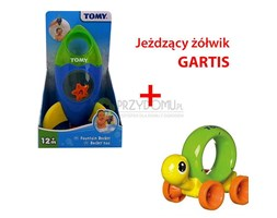 Rakieta-fontanna E72357+GRATIS Uciekający żółwik