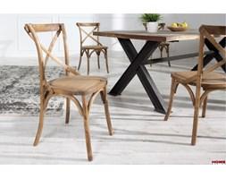 JKHD Interior :: Krzesło vintage Prowansja brąz 88cm (Z35773)