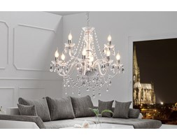 Lampa wisząca Wioletta 9 - transparentna