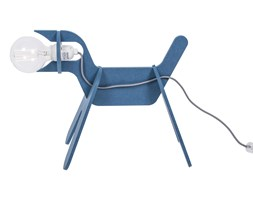 GET OUT - Lampa stojąca Pies Niebieski Dł.40cm