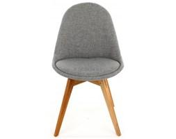 Tenzo Krzesło Donna Bess szare nogi drewniane - DonnaBess-BE-D