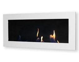 Biokominek dekoracyjny prostokątny 90x40 biały Flat (uniw)