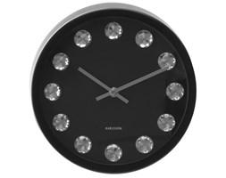 Zegar ścienny Medium Diamond (czarny) Karlsson