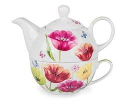 Czajnik porcelanowy z filiżanką Tulip