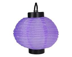 Solarny lampion okrągły światło białe L-067615 MIX