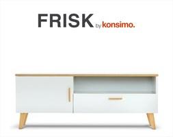 FRISK Szafka RTV skandynawska / KONSIMO.