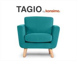 TAGIO Fotel skandynawski / KONSIMO.