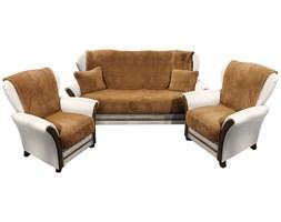4Home Narzuty na kanapę i fotele Baranek ciemny brąz, 150 x 200 cm, 2 ks 65 x 150 cm