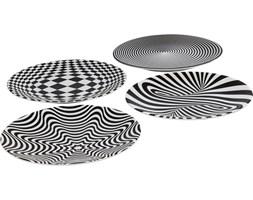 KARE Design :: Talerz Plate Psychodelic 25cm- wzór 4 (lejek)