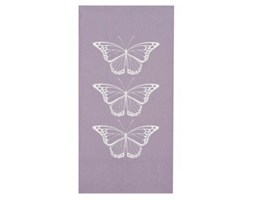 Ib Laursen Serwetki Butterflies (16/Set) lawendowe - 9533-51