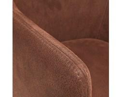 Danai krzesło eko nubuk czekoladowy brąz
