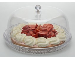 Patera na ciasto, tort z kloszem