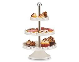 Okrągła patera na ciasta, słodycze - 3 poziomy, stal nierdzewna, ZELLER