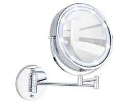 Naścienne lusterko kosmetyczne Power-Loc LUMI z podświetnielniem LED, powiększenie x5, WENKO