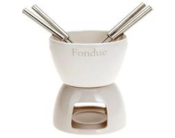 Zestaw do fondue - ceramiczny zestaw do czekoladowego lub serowego fondue dla 4 osób