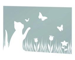 Folia okienna MOTIV samoprzylepna - wzór Kot i motyle, WENKO