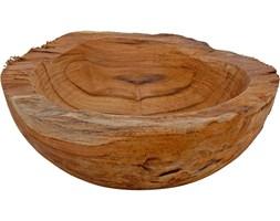 Miska na owoce, warzywa, przekąski - drewno, Ø 20 cm