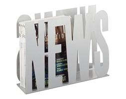 Metalowy gazetnik NEWS, stojak na gazety, ZELLER