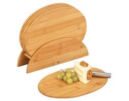 Bambusowe deski kuchenne + stojak, 7 części w komplecie, ZELLER
