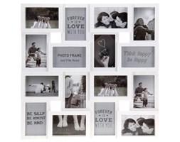 Ramka na zdjęcia, 16 zdjęć - galeria, kolor biały